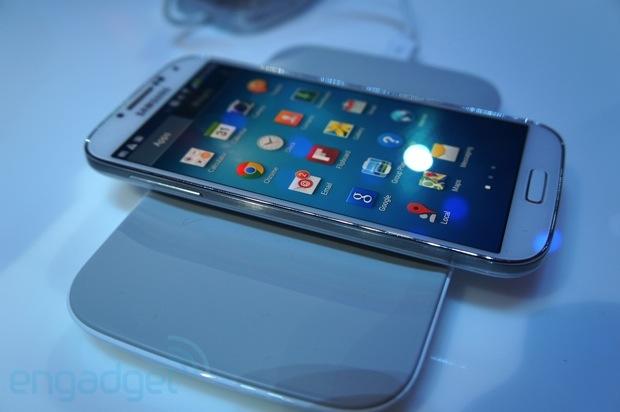 Samsung Galaxy S4 Qi charger