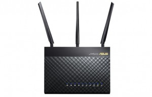 Wireless routers wouldn't produce enough power for the antenna array ot make use of.