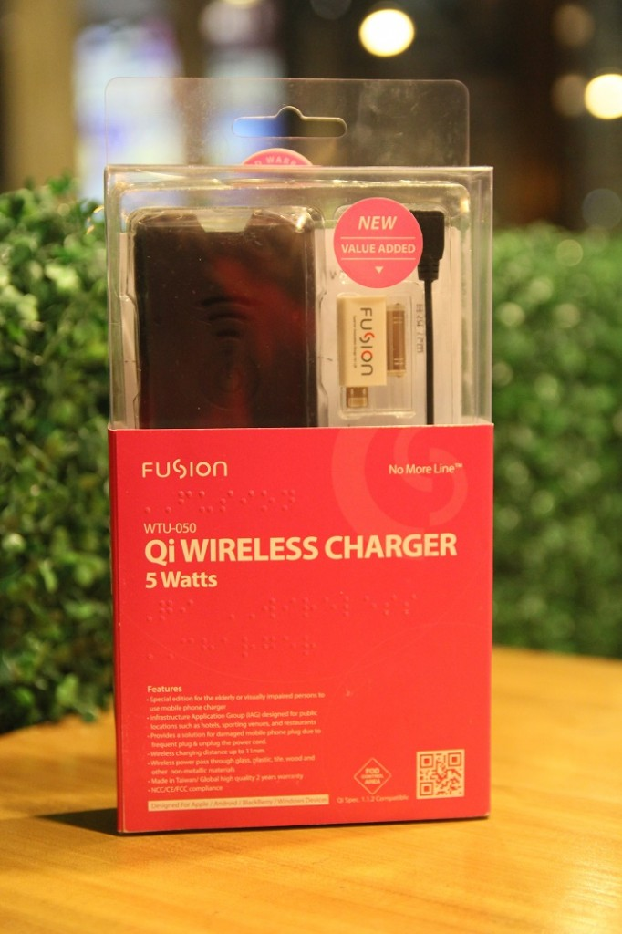 Fusion Wireless Charger and Receiver
