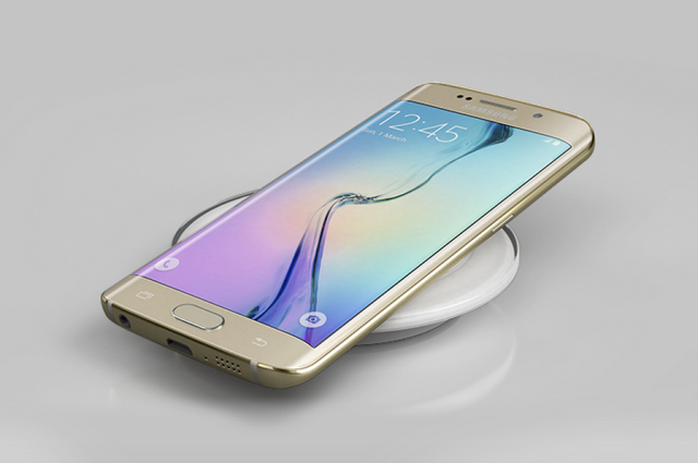 Galaxy S6 qi wireless charging