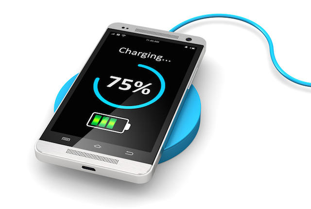 security chip wireless charging
