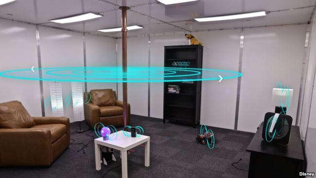 Disney wireless charging room