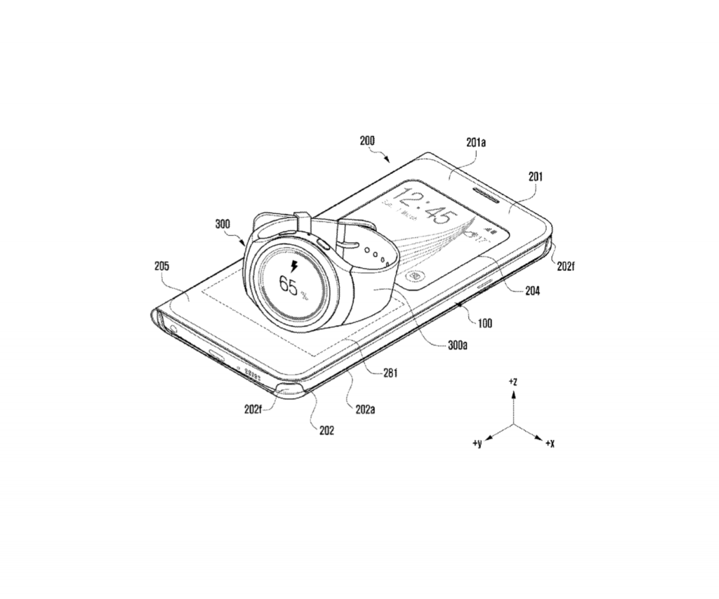 Samsung files wireless charging patent