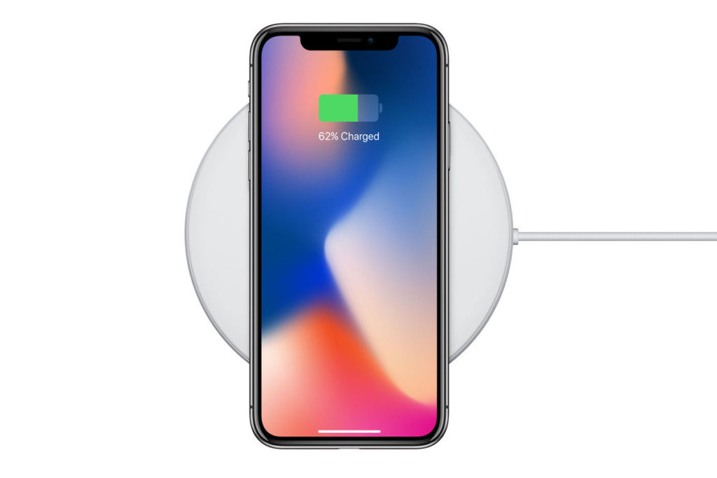 Apple iPhones wireless charging